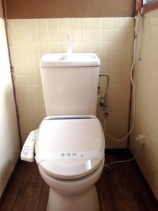 伊吹町ウォシュレット洋式トイレ
