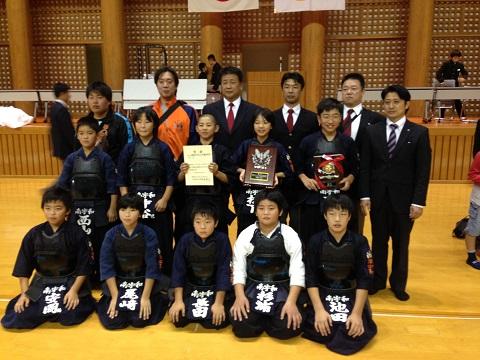 愛媛県剣道スポレク大会優勝