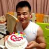 ラヴィータの誕生日ケーキを食べました