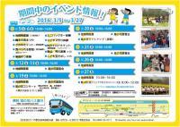 3月5日(土)から四万十市入田ヤナギ林で菜の花まつり開催