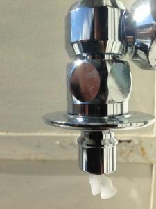 マンションクリオストッパー付き水栓