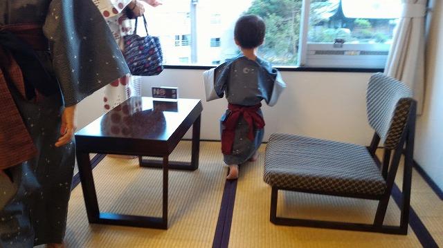 茶玻瑠 浴衣