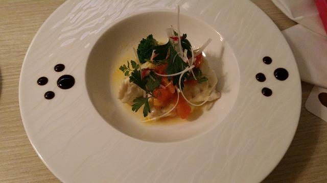 茶玻瑠夕食プレミアムディッシュ魚