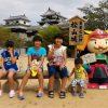 夏の暑さも忘れる!松山城の天守からの眺めは最高です!