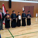 全国大会出場決定!愛媛スポーツ・レクリエーション祭2016剣道競技で優勝!